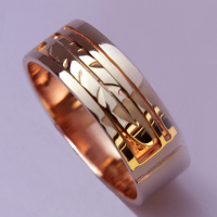 Native American Golden Eagle Clan ring