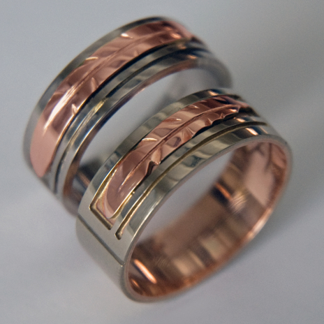 Native American Anishinaabe wedding rings collection Truth