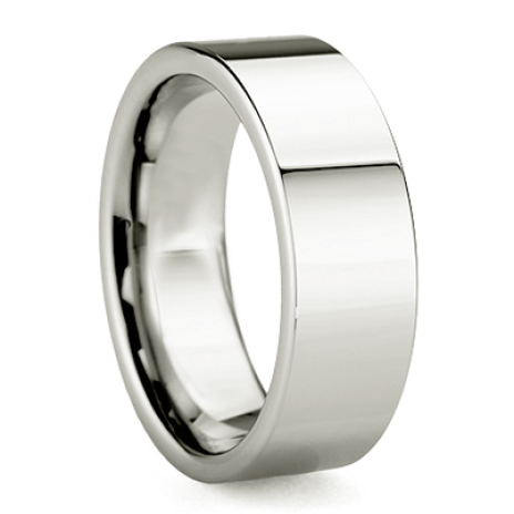 Platinum men's ring La Luce dell'Est
