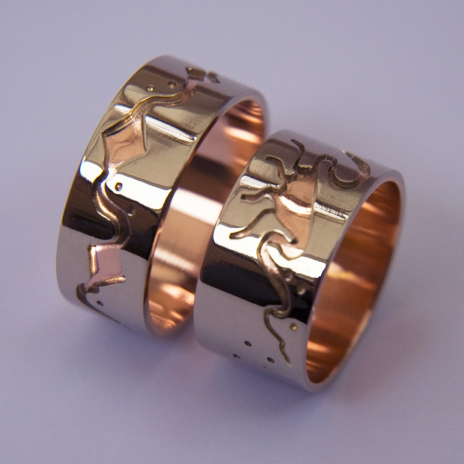 Ojibwe wedding rings River Of Life