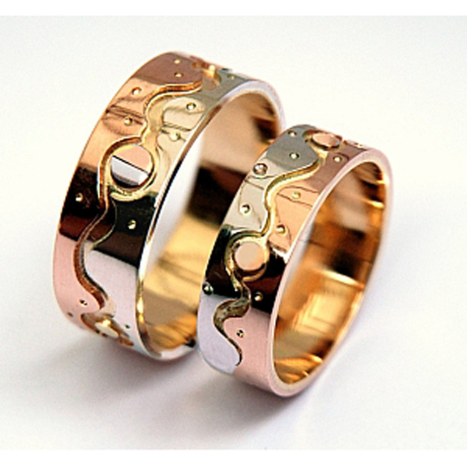 Native American Ojibwe Style Wedding Rings Inward Journey
