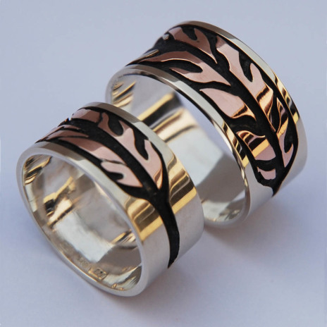 Ojibwe wedding rings Dream of the Bald Eagle
