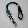 Flight Of The Sun Dancer Native American warrior bear paw bolo tie