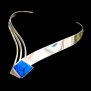 Messenger From The East Swooping Down Eagle white gold necklace