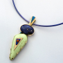 Endawi-giizhig (Both Sides Of The Sky) Ojibwe style necklace