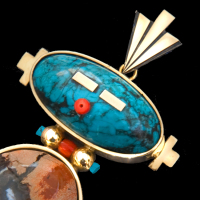 Native American necklaces and pendants