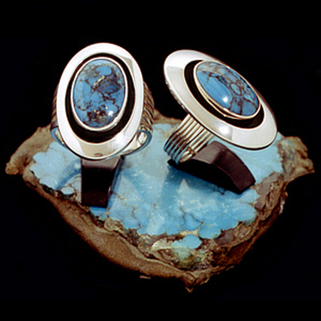 Ojibwe ladies and men's rings