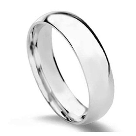 Platinum men's ring Il Ciclo Naturale design by La Purezza del Platino