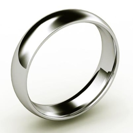 Platinum men's ring La Magia Tranquilla