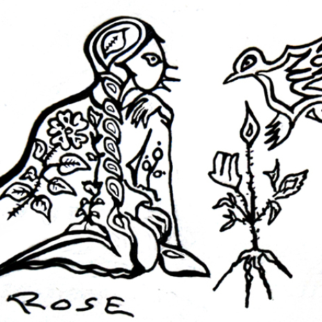 Rose Poem by Zhaawano Giizhik