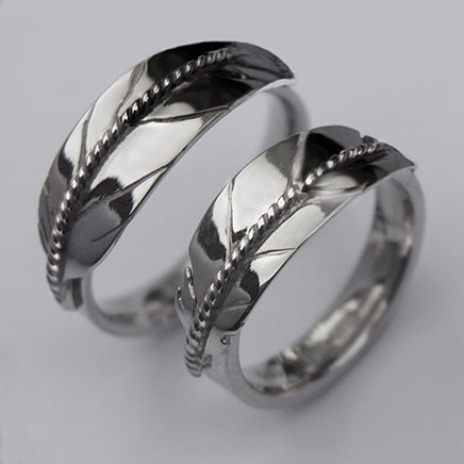 Native American eagle feather wedding rings Spirit Reaches the Sky